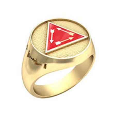 Order of the Arrow® Vigil Honor ring (Yellow)