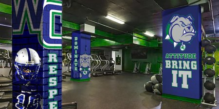 Weight Room Makeovers