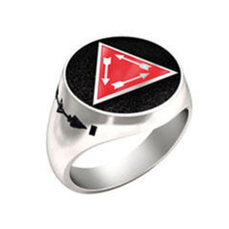 Order Of The Arrow Vigil Honor Ring (White)