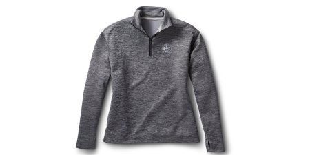 Womens Quarter Zip Performance