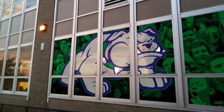 Exterior Window Graphics